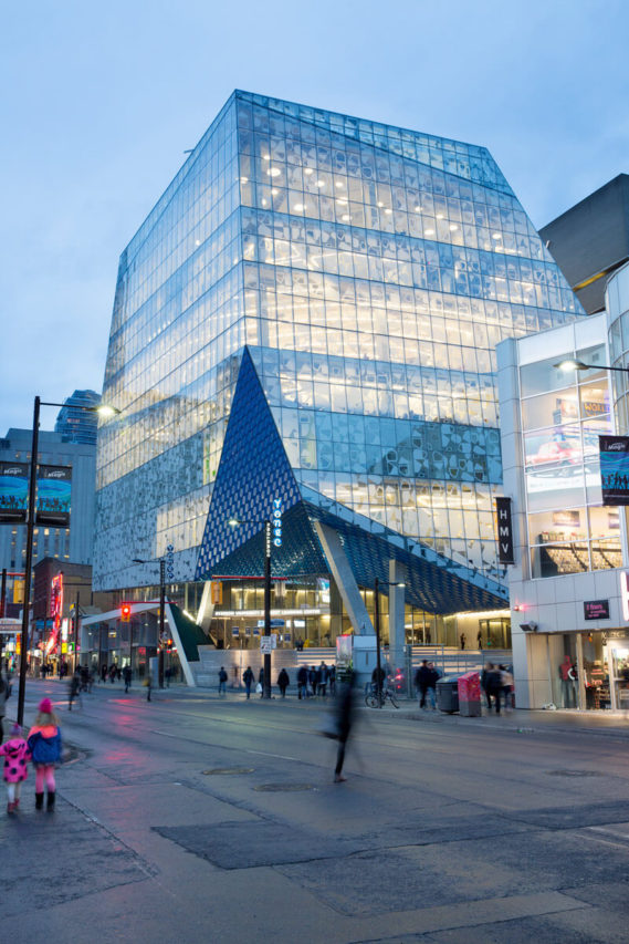 Photo of Student Learning Centre, Ryerson University
